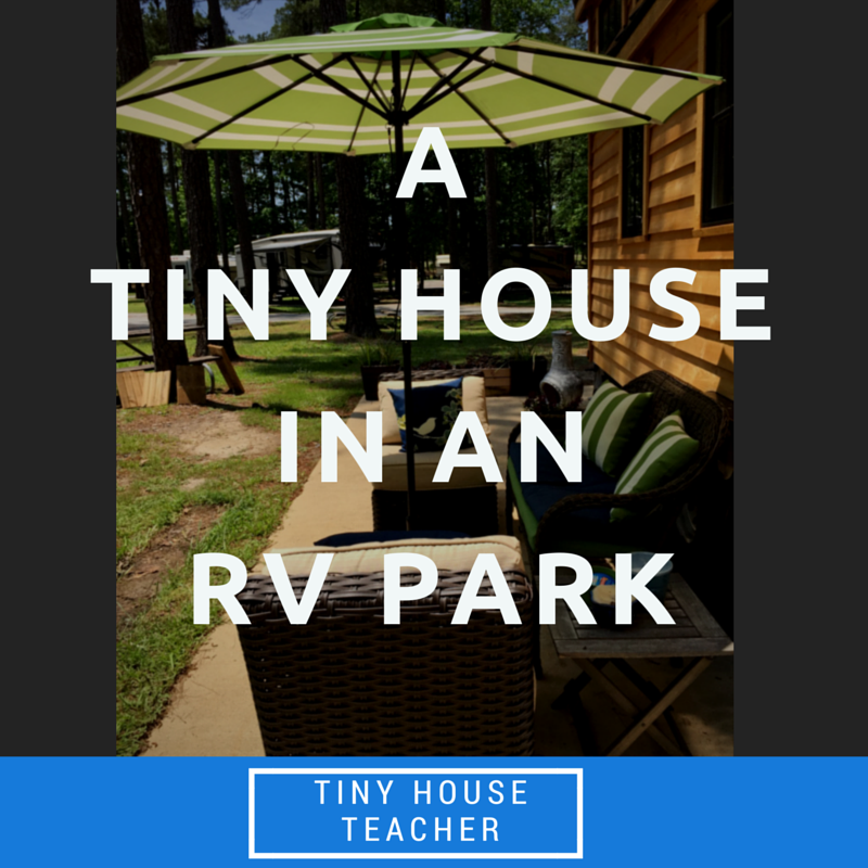 A Tiny House In An RV Park